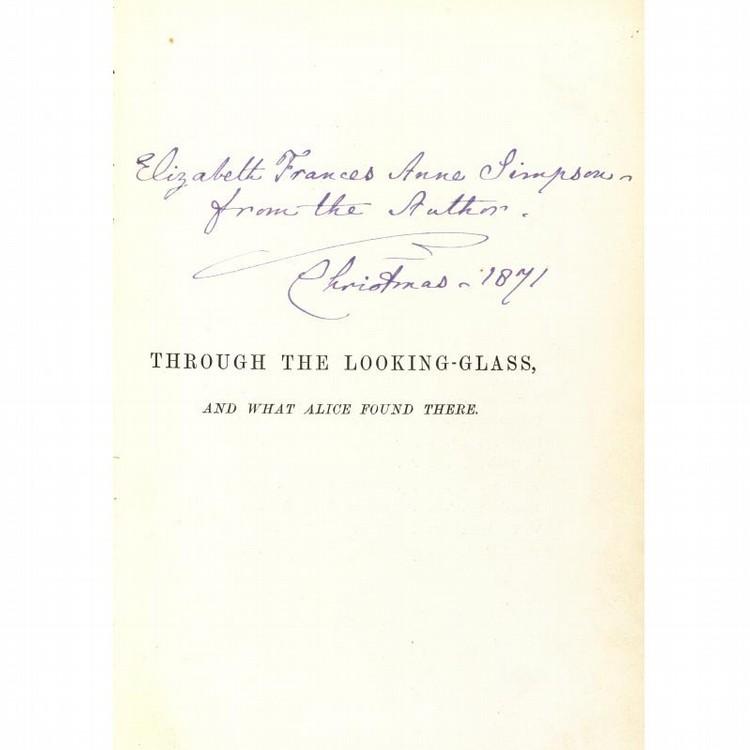 DODGSON, CHARLES LUTWIDGE