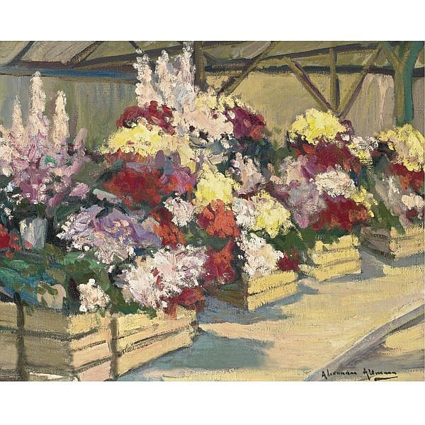 Alexandre Altmann , Russian 1885-1950 