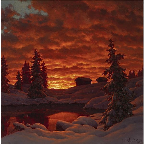 Ivan Fedorovich Choultsé , Russian 1877-1932 