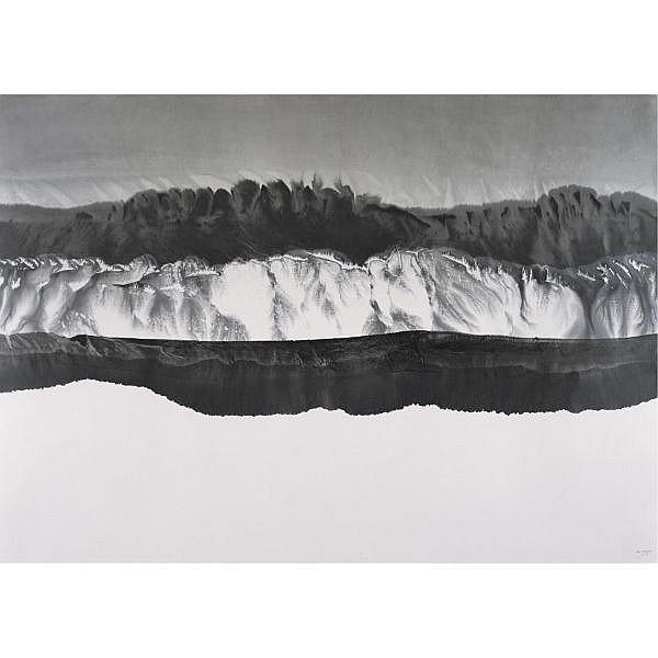 - Gao Xingjian , b. 1940   La Montagne de Reve (The Dream Mountains)   ink on paper