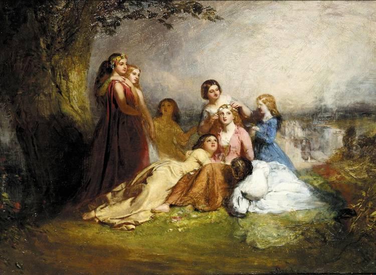JOHN FAED 1820-1902