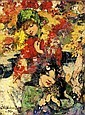 EDWARD ATKINSON HORNEL 1864-1933, E A Hornel, Click for value