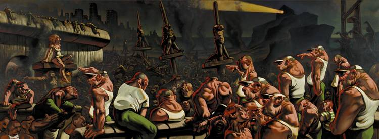 PETER HOWSON B. 1958