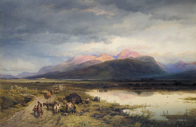 THOMAS MILES RICHARDSON JNR. 1813-1890