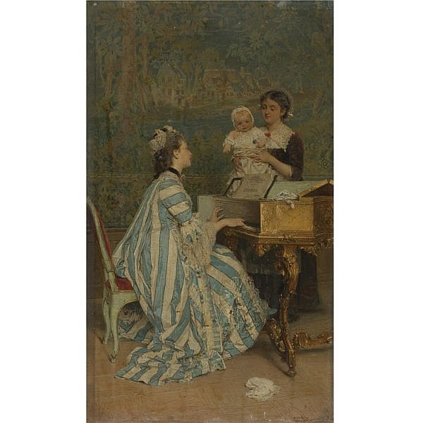 Gerolamo Induno , Italian 1827-1890 