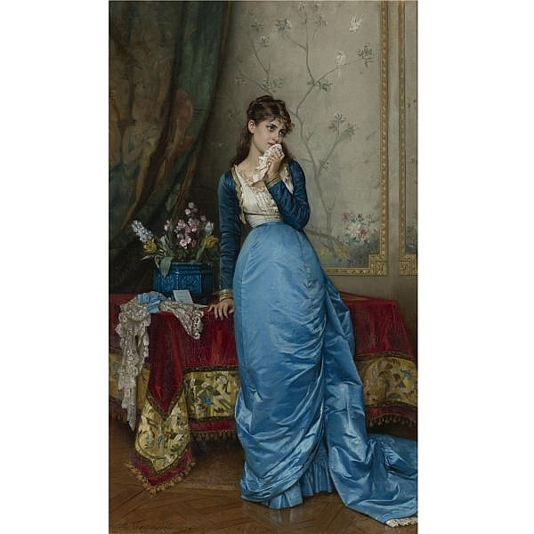 Auguste Toulmouche , French 1829-1890 