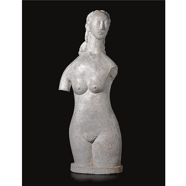 Constant Permeke , 1886-1952   Torso plaster