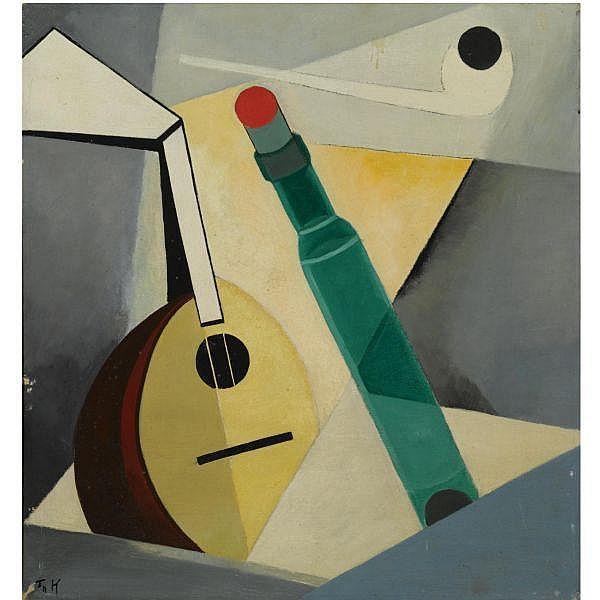 Thijs Rinsema , 1877-1947   Stilleven oil on canvas