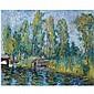 Johan Dijkstra , 1896-1978 Paterswoldsemeer oil on canvas   , Johan Dijkstra, Click for value