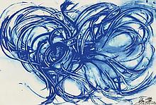 IMAI TOSHIMITSU   Untitled (Blue)