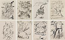 SALVADOR DALÍ   Poèmes de Mao Tse-Toung (set of 8 works)