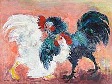 VU CAO DAM   Combat de coqs (Cockerels Fighting)