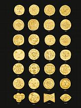 PABLO PICASSO | Twenty-Eight Gold Medallions (a set of 24 + a set of 4)