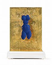 YVES KLEIN   Petite Vénus Bleue (brooch)