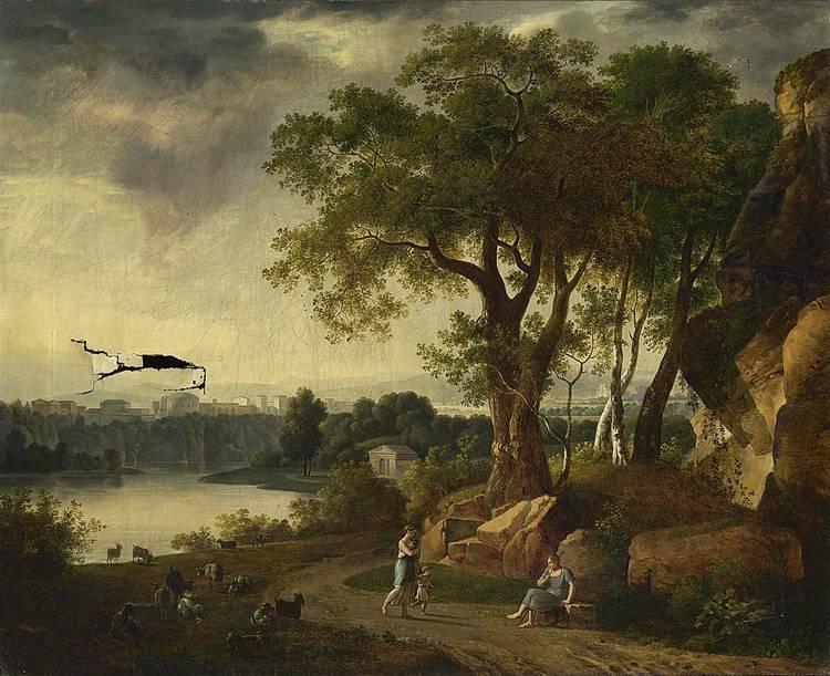 JOHANN MELCHIOR ROOS HEIDELBURG 1663 - 1731 BRAUNSCHWEIG(?)