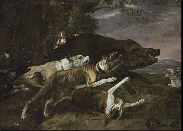 PEETER BOEL ANTWERP 1622 - 1674 PARIS