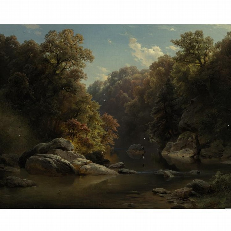 PAUL WEBER 1823-1916 AUTUMN
