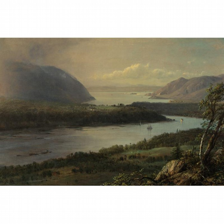 PROPERTY FROM THE COLLECTION OF READER'S DIGEST FREDERIC EDWIN CHURCH 1826-1900 THE HIGHLANDS OF
