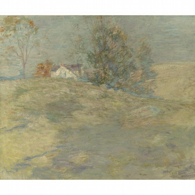 PROPERTY FROM A PRIVATE COLLECTION, MEMPHIS, TENNESSEE JOHN H. TWACHTMAN 1853-1902 GOLDEN
