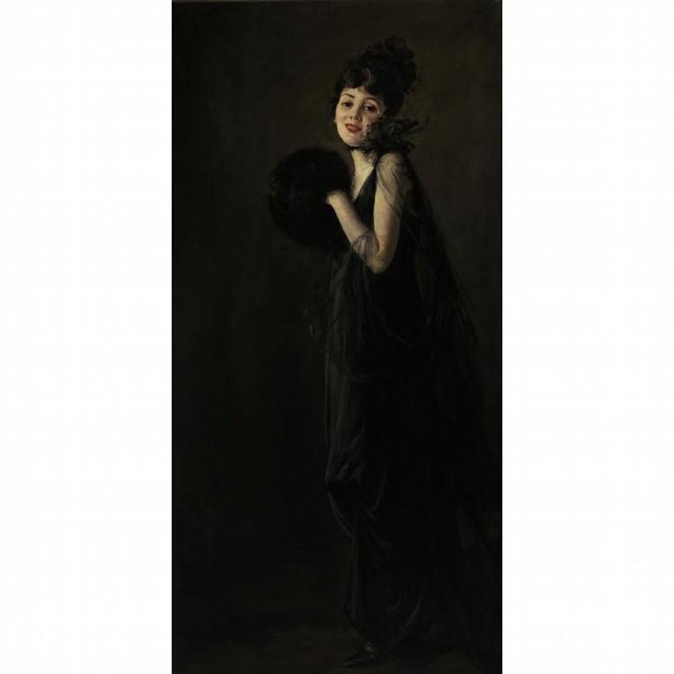 ANTONIO BARONE 1889-1971 THE LADY IN BLACK