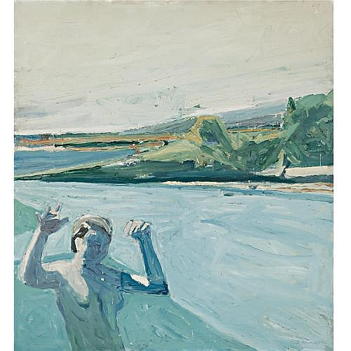 Paul Wonner , The Bather