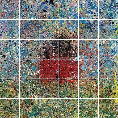 Jennifer Bartlett , House: Splatter Painting