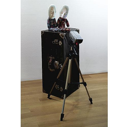 Tony Oursler , Time Is Nothing