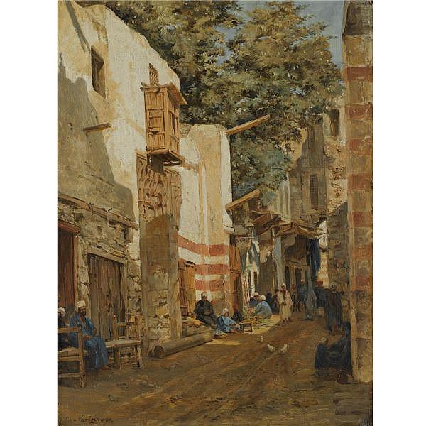 John Varley JnrBritish, 1850-1933