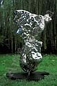Zhan Wang , B. 1962 Artificial Rock Series #29 stainless steel, Wang Zhan, Click for value