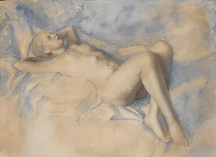 LEV TCHISTOVSKY | Reclining Nude