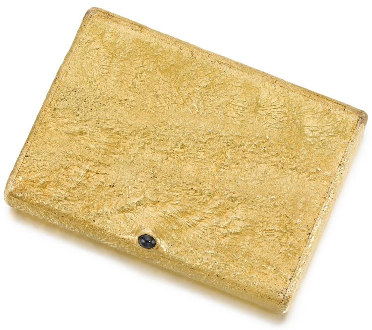 A GOLD CIGARETTE CASE, ST PETERSBURG, 1908-1917 |