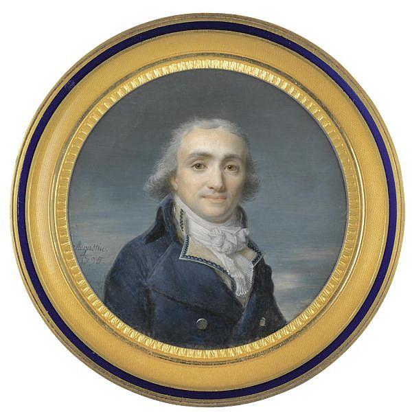 Jean Baptiste Jacques Augustin , 1759-1832 Portrait of a gentleman