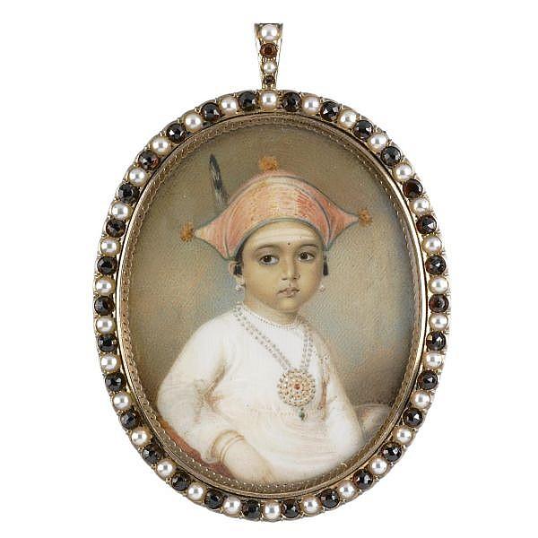 Edward Nash , 1778-1821 Portrait of Mooda Maji of Coorg