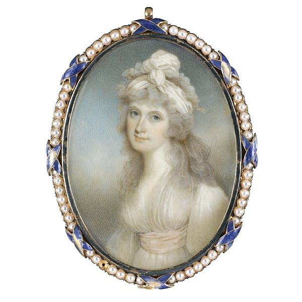John Barry , fl. 1784-1827 Portrait of a Lady