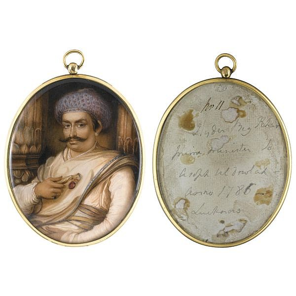 Ozias Humphry , 1742-1810 Portrait of Haidar Beg Khan