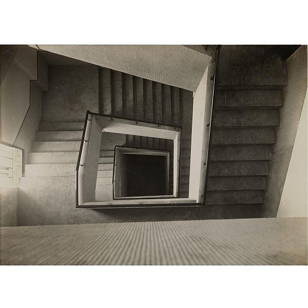Werner Mantz , 1901-1983 treppenhaus (staircase)