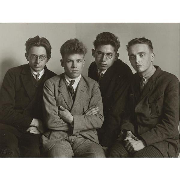 August Sander , 1876-1964 'werkstudenten'
