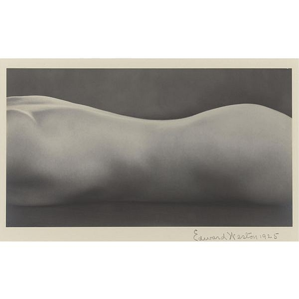 Edward Weston , 1886-1958 nude