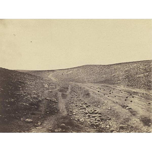 Roger Fenton , 1819-1869 'the valley of the shadow of death'