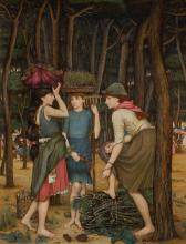 JOHN RODDAM SPENCER STANHOPE | Pine Woods at Viareggio
