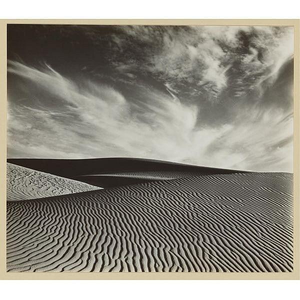 Brett Weston , 1911-1993 dune, oceano
