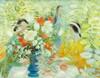 LE PHO | Jeunes Filles au Bouquet de Tulipes (Young Girls with Bouquet of Tulips), Le Pho, HKD200,000