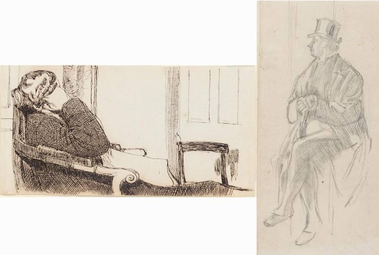 CHARLES KEENE 1823-1891
