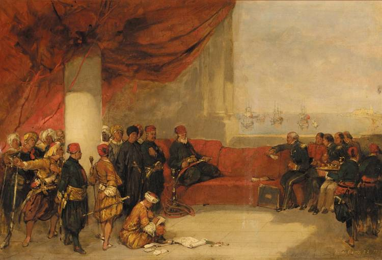 DAVID ROBERTS R.A.  1796-1864