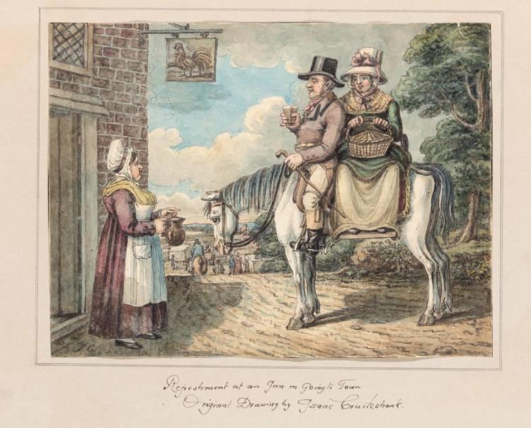 f - ISAAC CRUIKSHANK 1756-1811