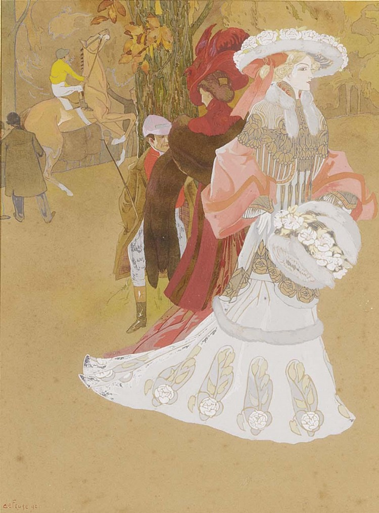 GEORGES DE FEURE FRENCH 1868-1943