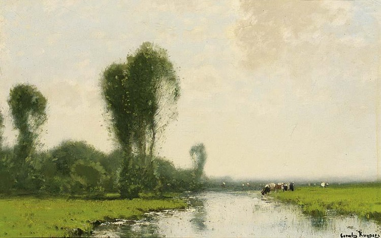 CORNELIS KUYPERS DUTCH 1864-1932
