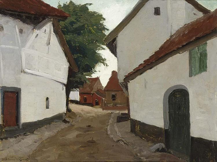 WILLEM WITJENS DUTCH 1884-1962