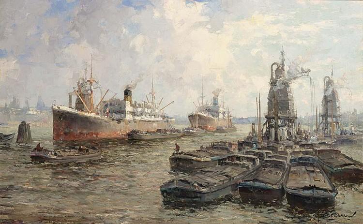 GERARDUS JOHANNES DELFGAAUW DUTCH 1882-1947