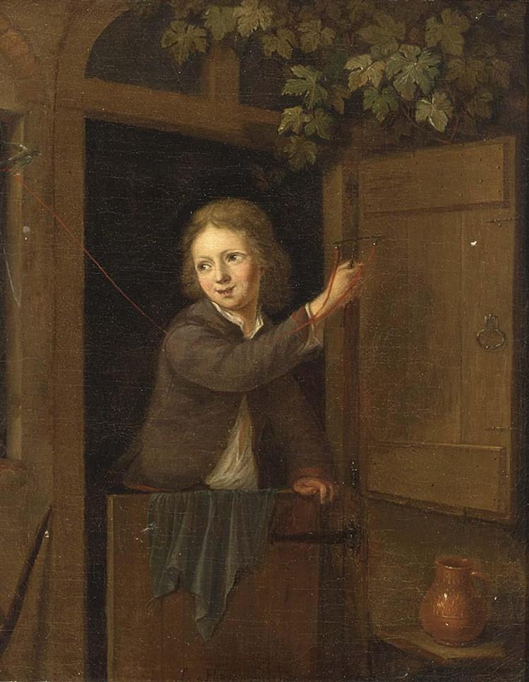 ARNOLD HOUBRAKEN DORDRECHT 1660 - 1719 AMSTERDAM